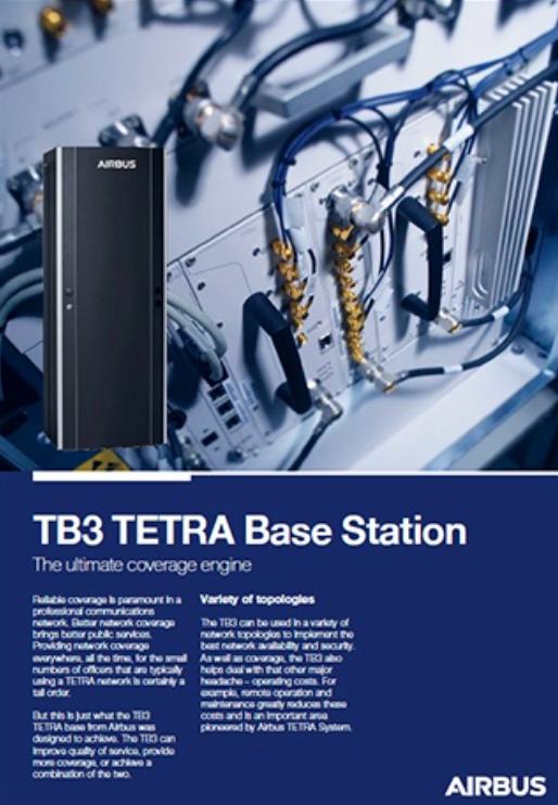TB3 Estación base TETRA